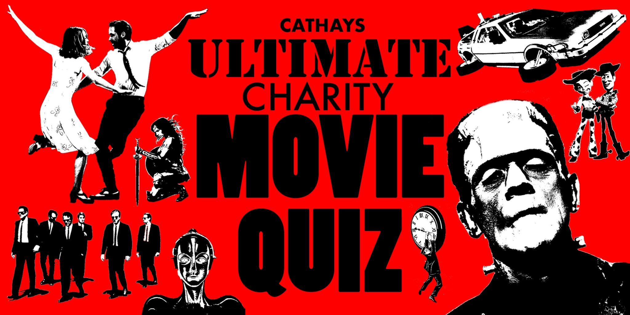 Cathays Ultimate Charity Movie Quiz Night – Sat October 13th